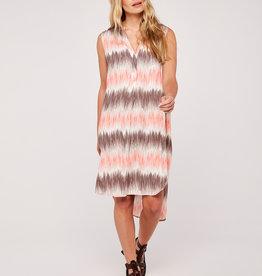 Apricot Peach Dress