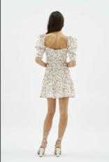Mink Pink Kacey Ruched Mini Skirt