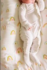 Loulou Lollipop Muslin Swaddle Rainbow