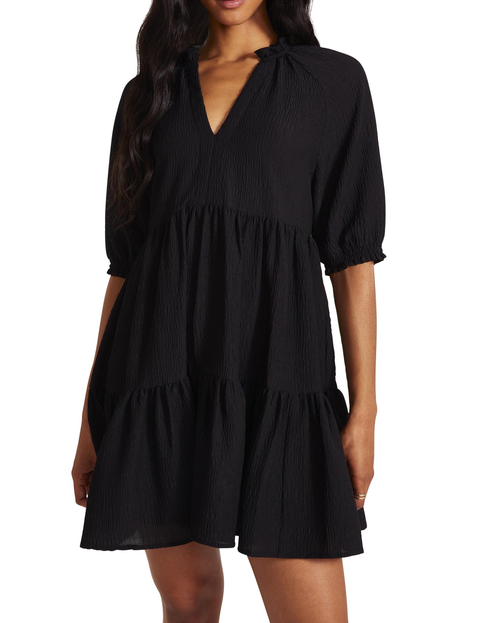 Bb Dakota Black Iced Tea Dress