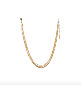 Hailey Gerrits Abacus Necklace Coral Jade