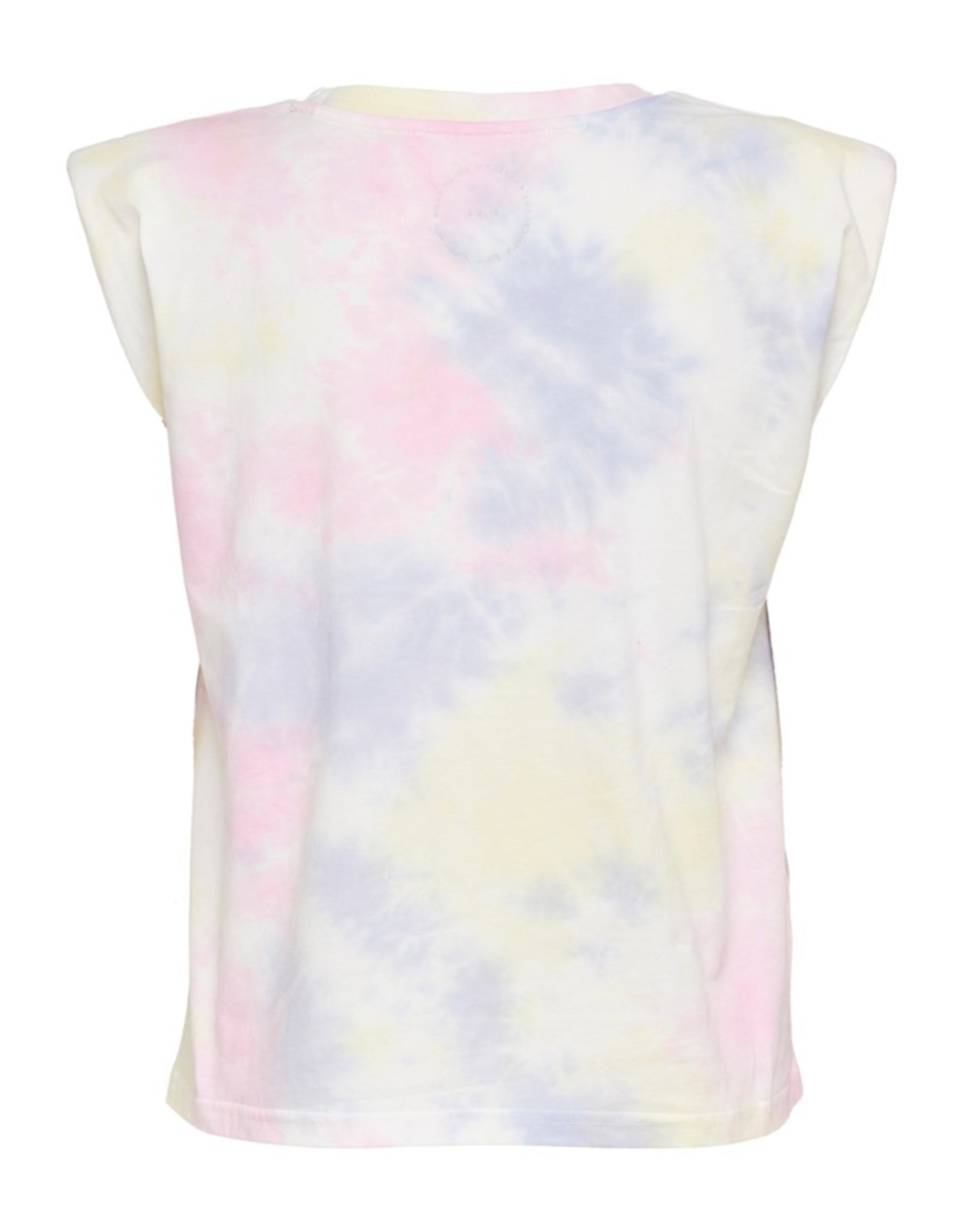 Only Amy Padded Shoulder Tie Dye