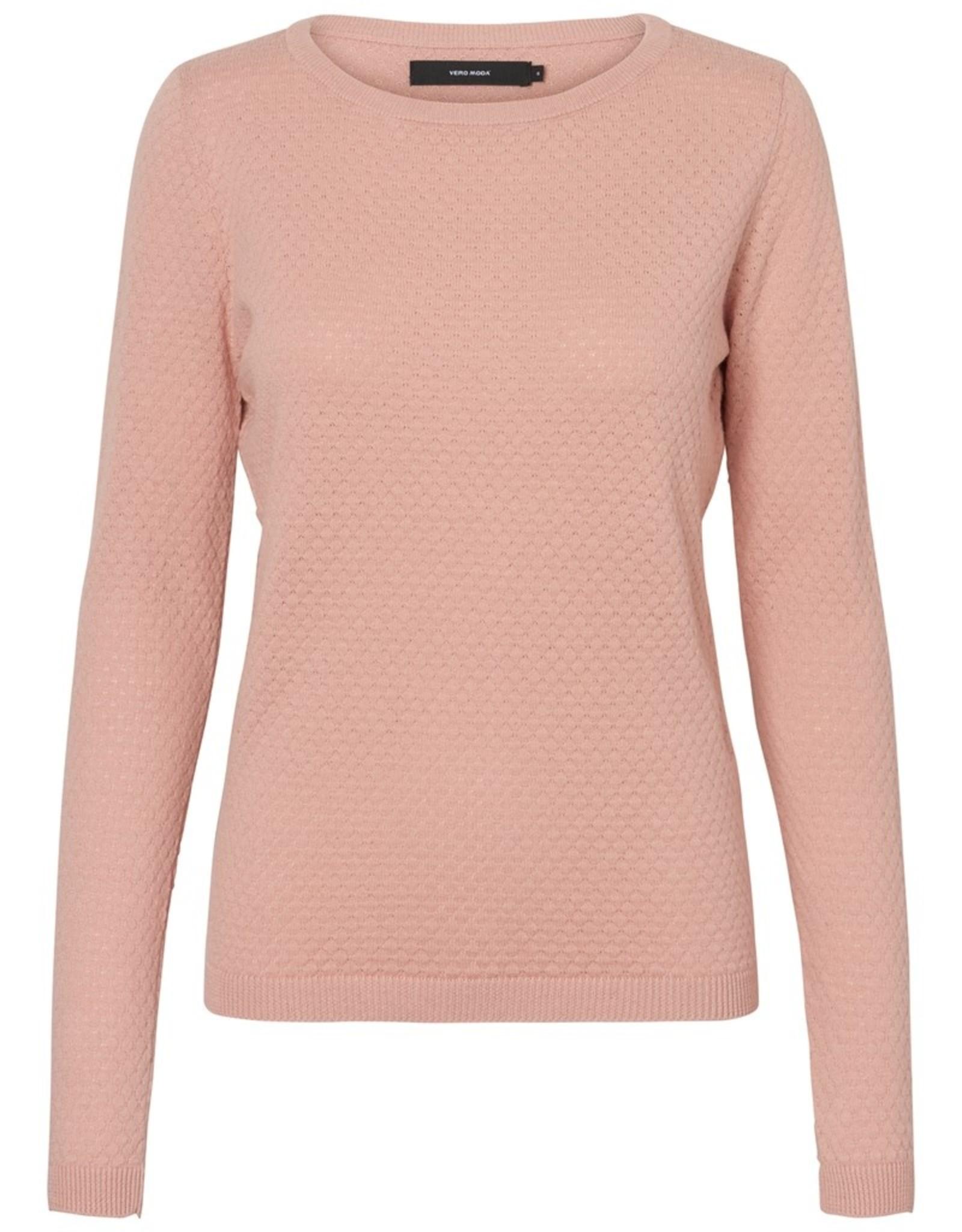 Vero Moda Care Sweater Misty Rose