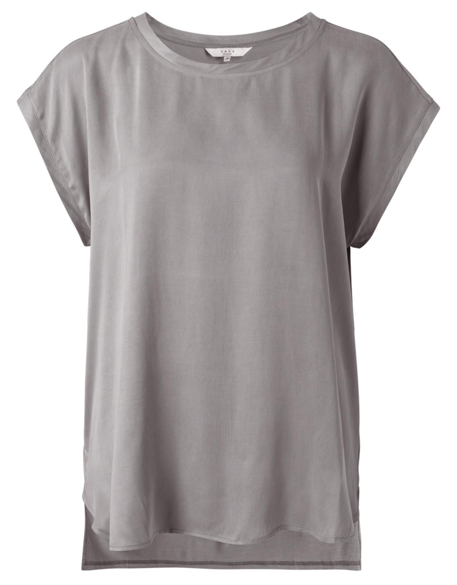 Yaya Fabric Mix Silver Grey