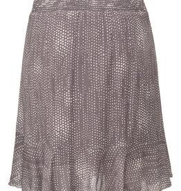 Yaya Faux Wrap Printed Skirt
