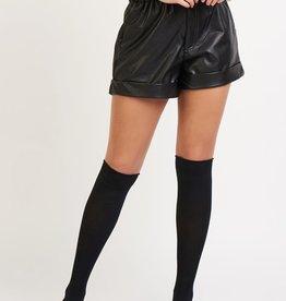 Dex Faux Leather Shorts