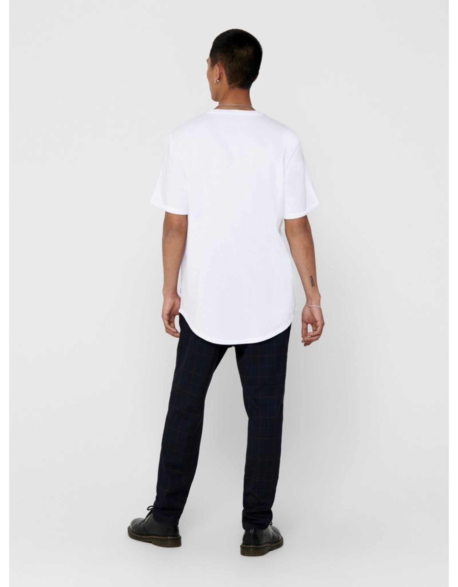 Only and Sons Gavin Pocket Tee White