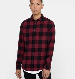 Only and Sons Gudmund Checked Shirt