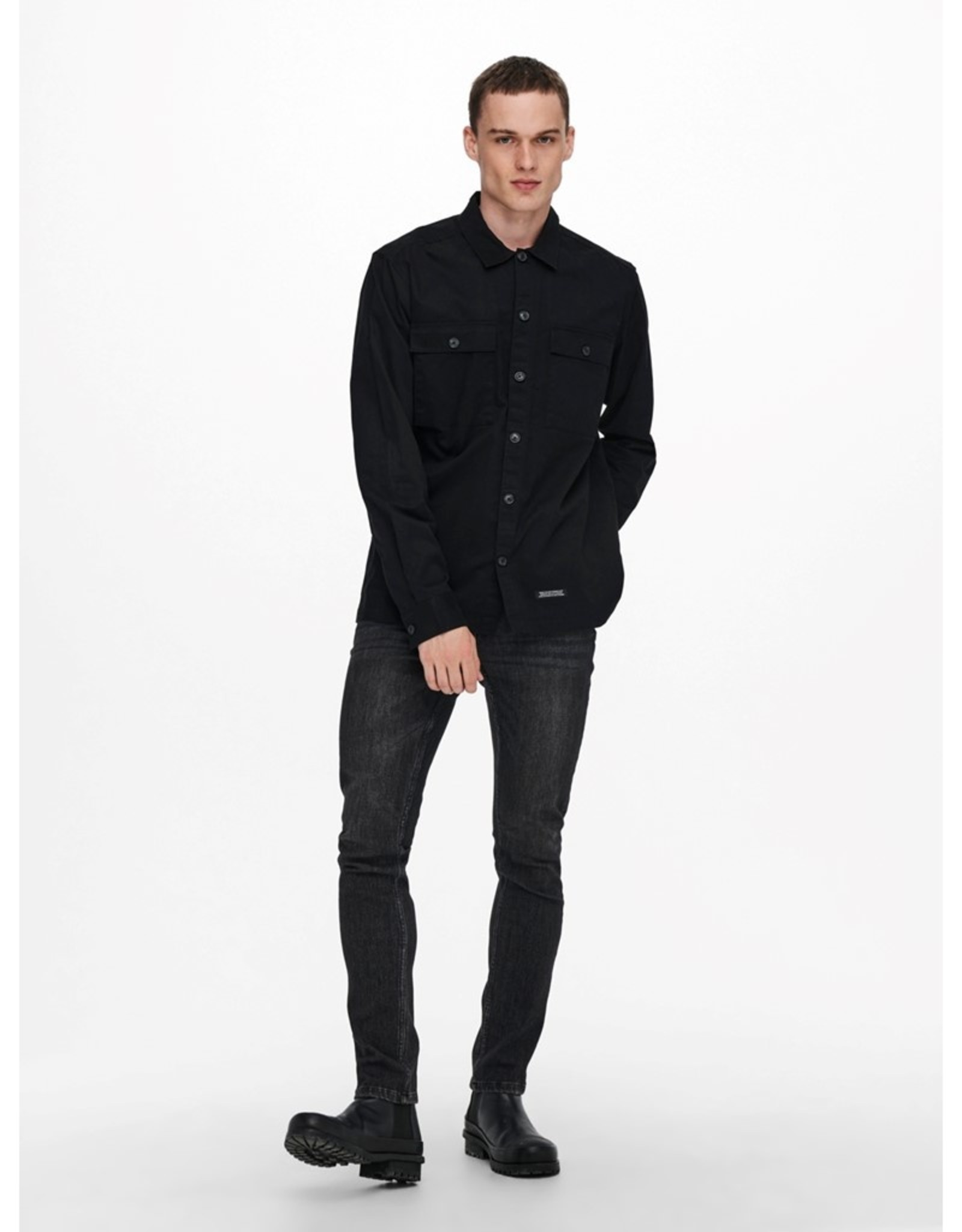 Only and Sons Nicklas Twill Overshirt