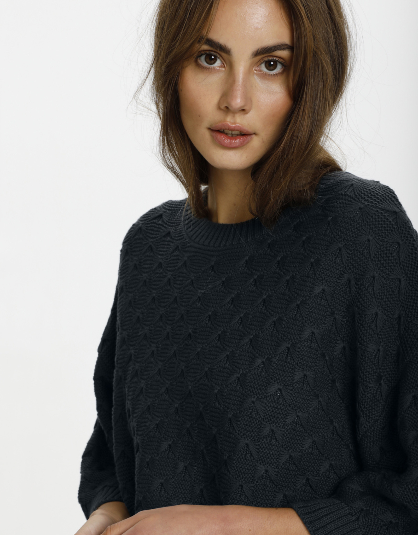 Soaked in Luxury Rosalie Pullover Ink