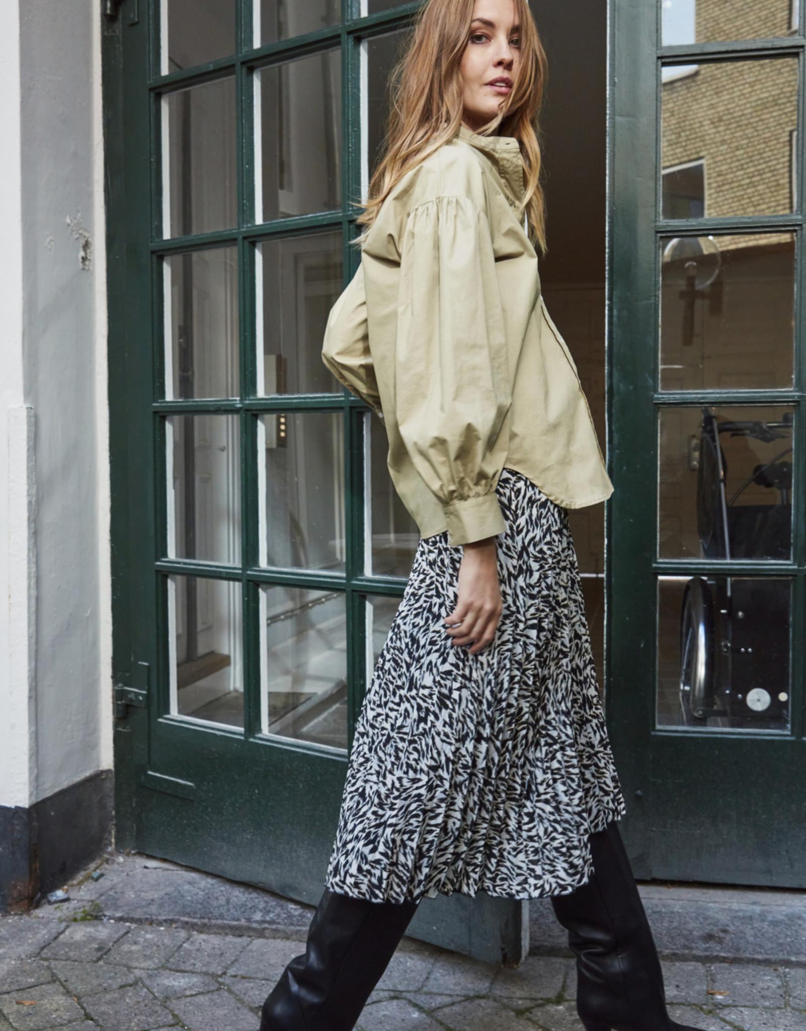 Soaked in Luxury Ananya Skirt Animal