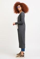 Dex Button Front Long Cardigan