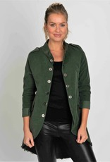 Suzy D London Courdory Military Jacket Olive