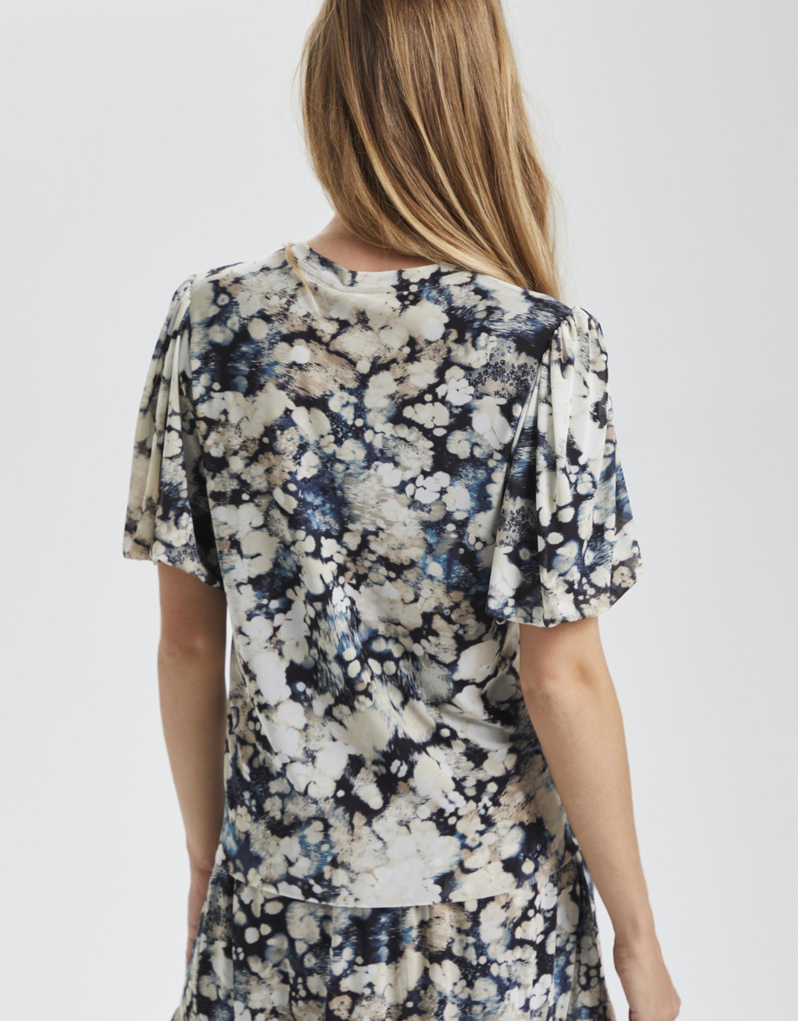 Soaked in Luxury Ila t-shirt Blue