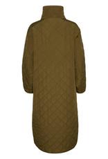 Soaked in Luxury Umina Coat Olive