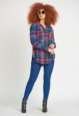 Dex Purple Plaid Shirt