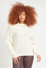 Dex Mock Neck Sweater Cream