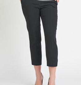 Black Tape Black Crop Trouser
