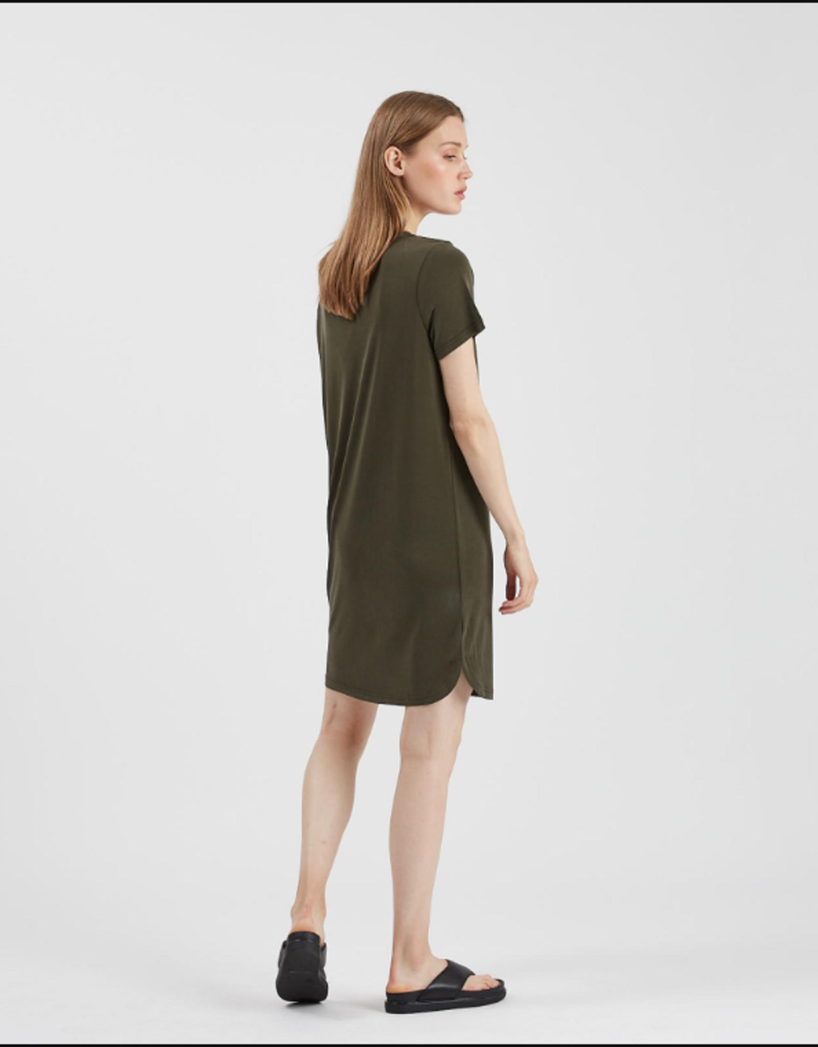Minimum Larah Dress Racing Green