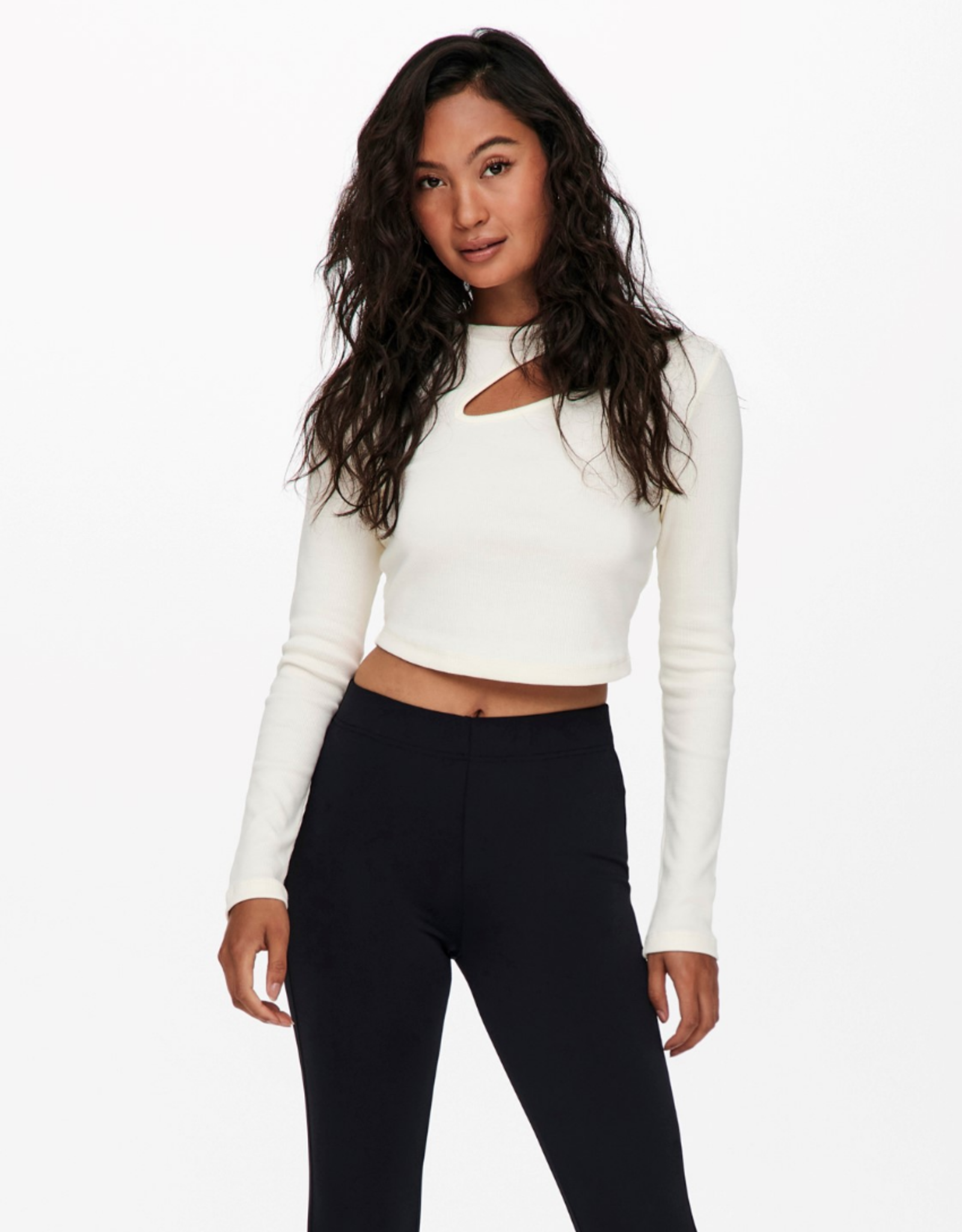 Only Nessa White Cut Out