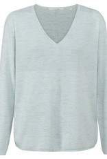 Yaya Vneck Sweater Skywriting