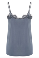 Soaked in Luxury Clara Singlet Blue Grey