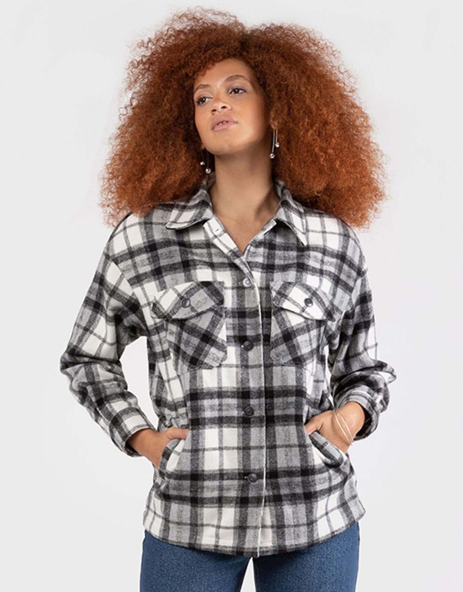 Dex Black/White Overshirt