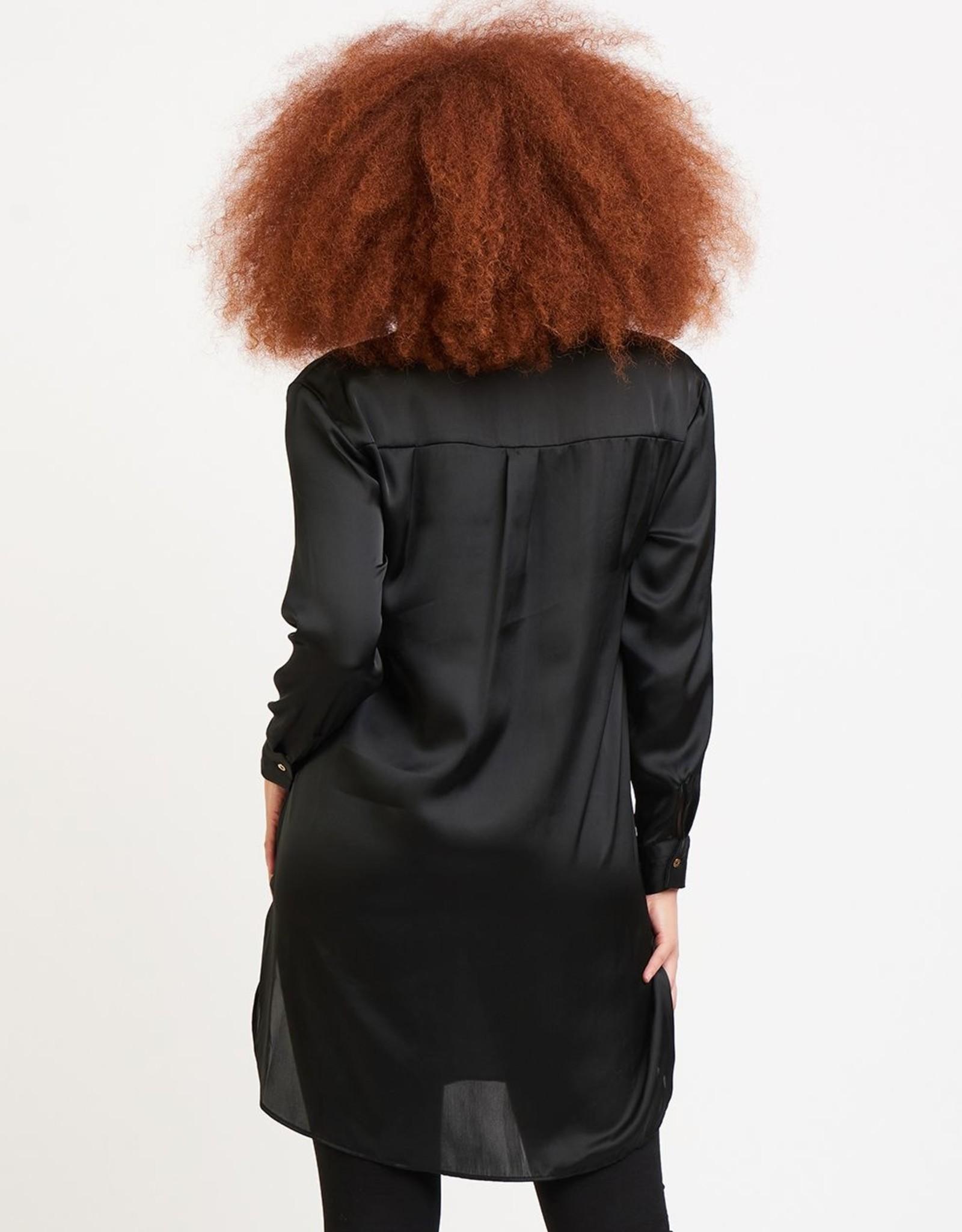 Dex Black Tunic Blouse