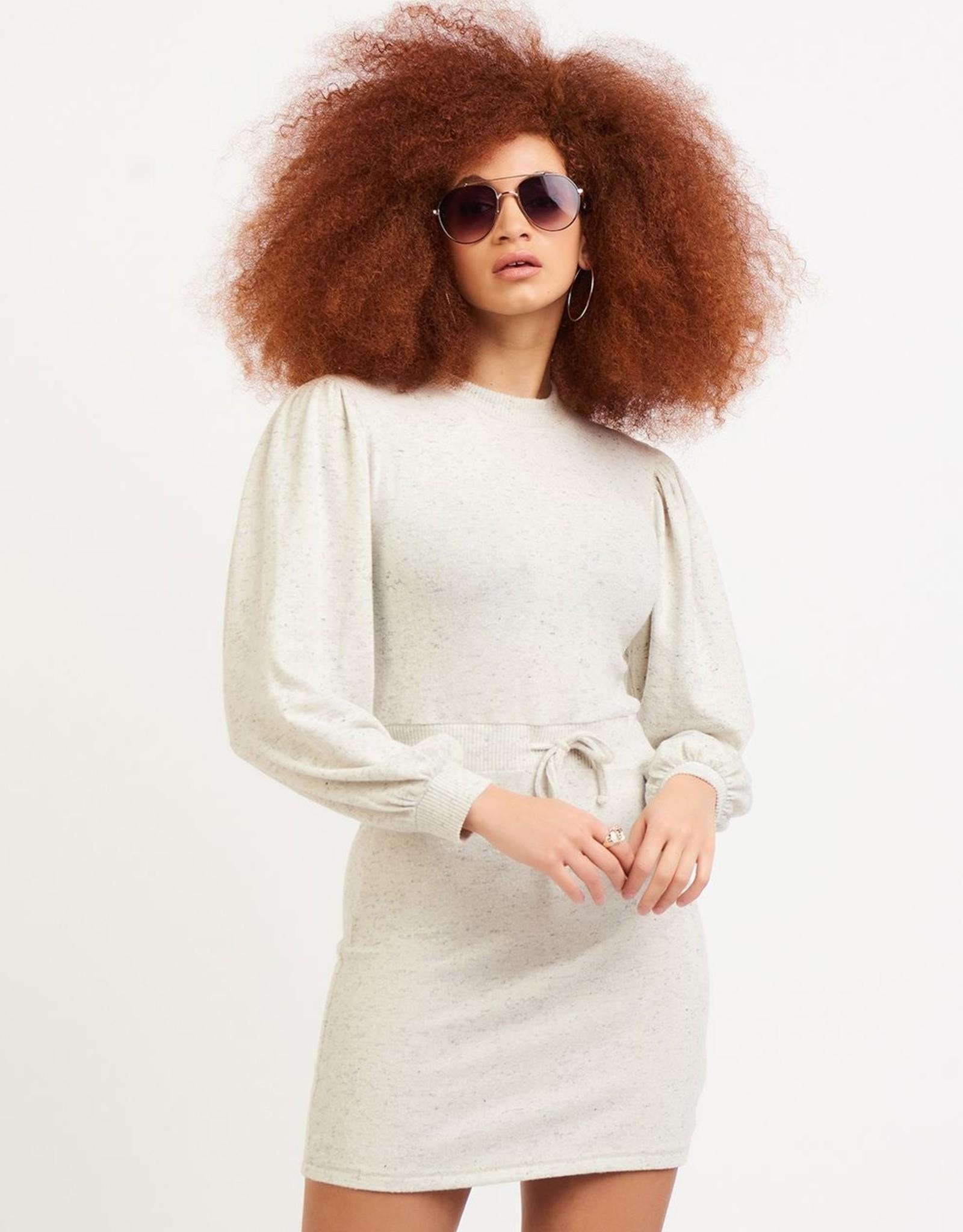 Dex Oatmeal Sweat Dress