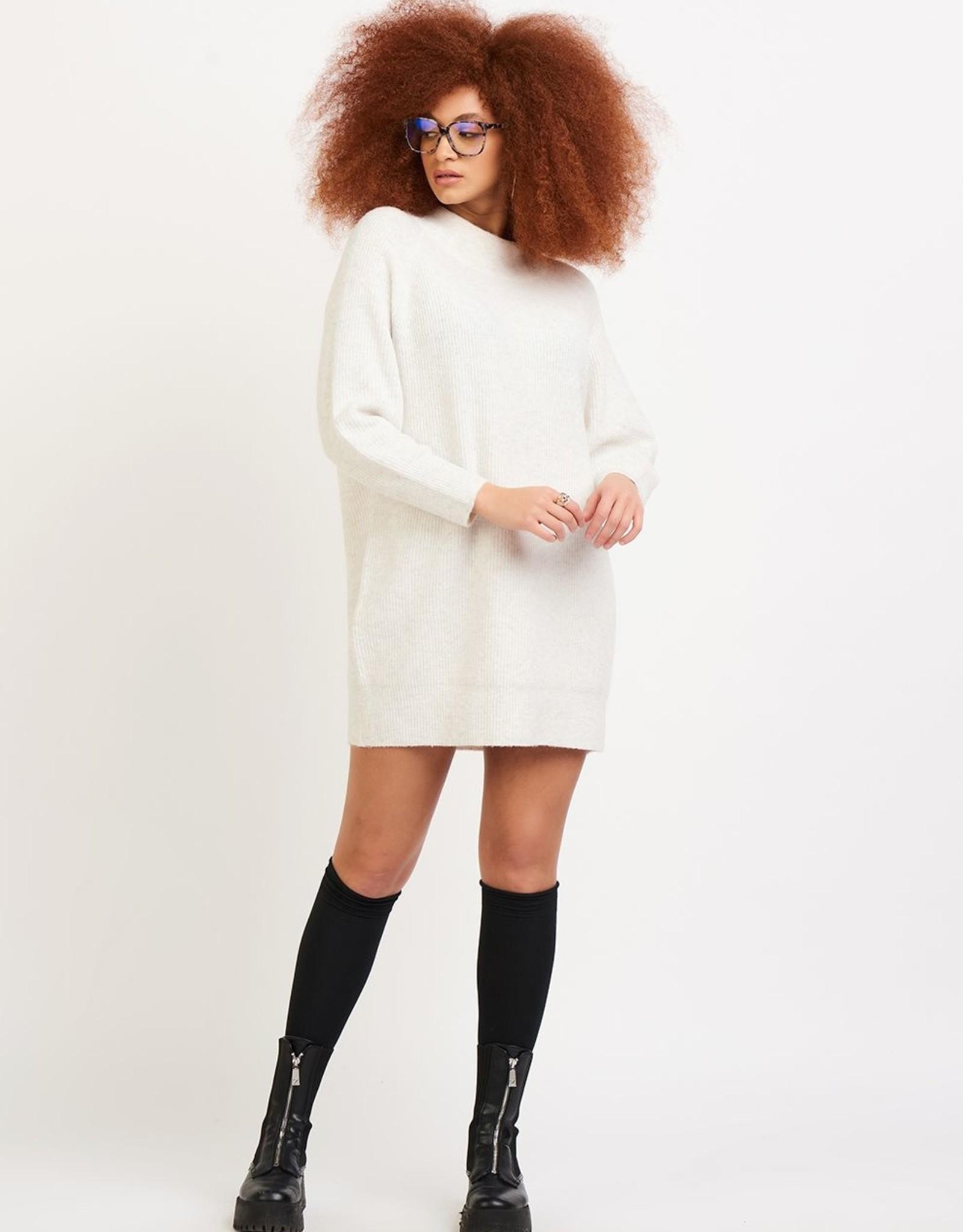Dex Cream Sweater Dress