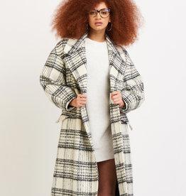 Dex White/Black Coat