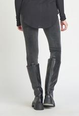 Dex Black corduroy leggings