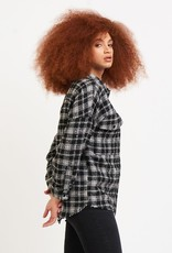 Dex Textured Plaid Overshirt