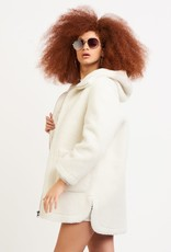 Dex Hooded Fleece Coat