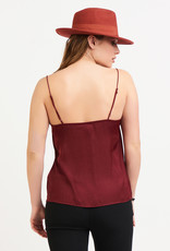 Black Tape Red Camisole
