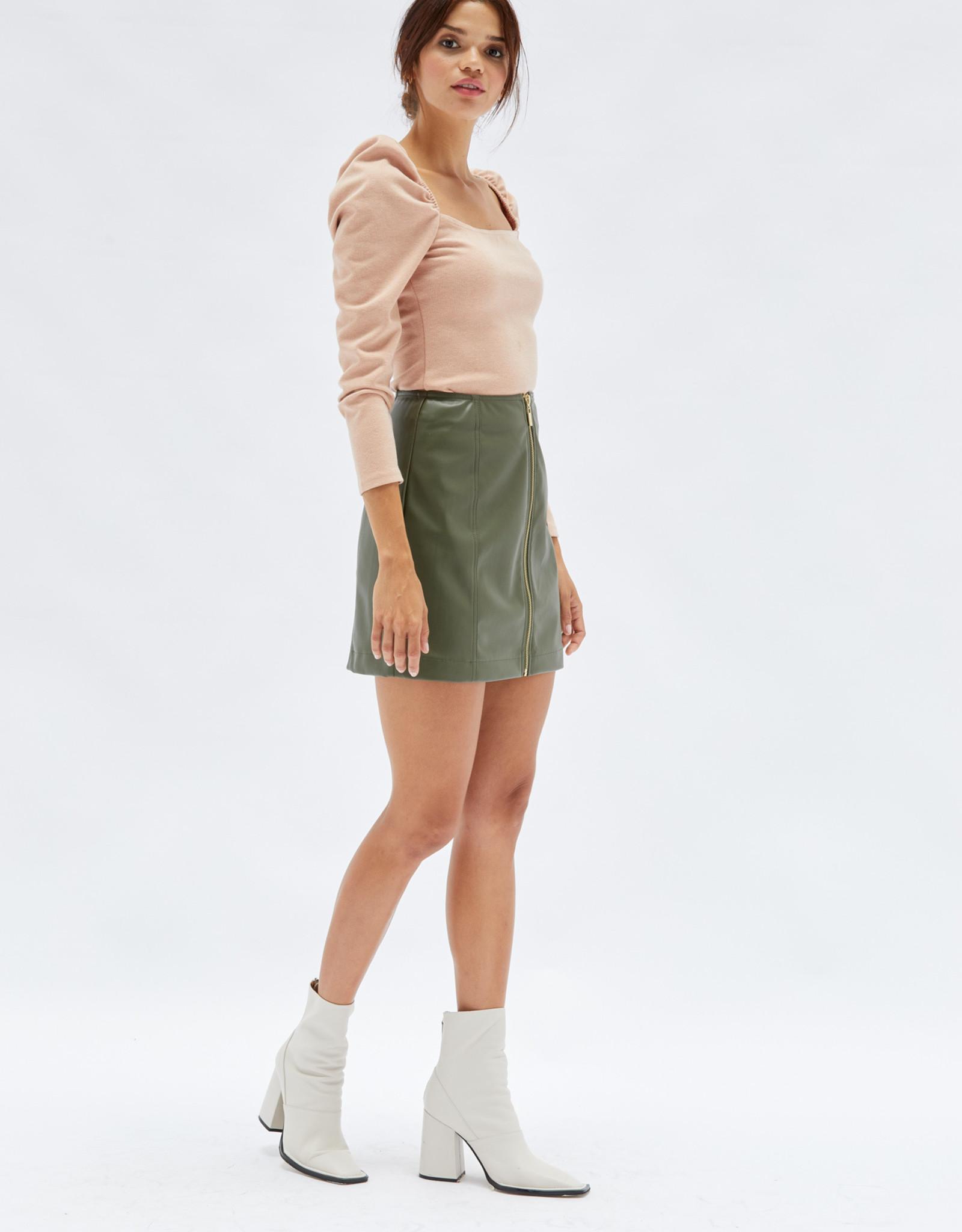 Mink Pink Roshni Puff Sleeve