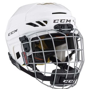 CCM CCM S18 FitLite Helmet with Facemask - Junior