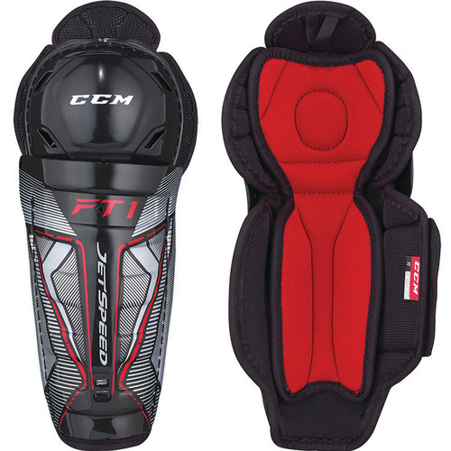 CCM CCM S18 JetSpeed FT1 Shin Guard - Youth
