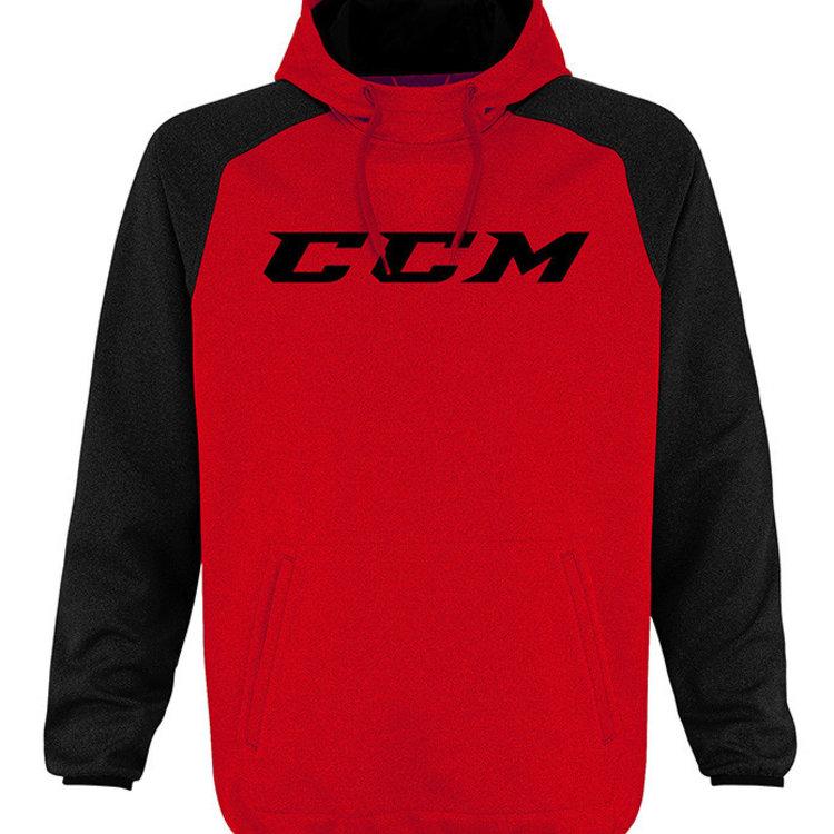 CCM CCM S19 Red Tech Pullover Hood - Senior