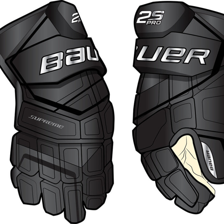 Bauer Bauer S19 Supreme 2S Pro Hockey Glove - Senior