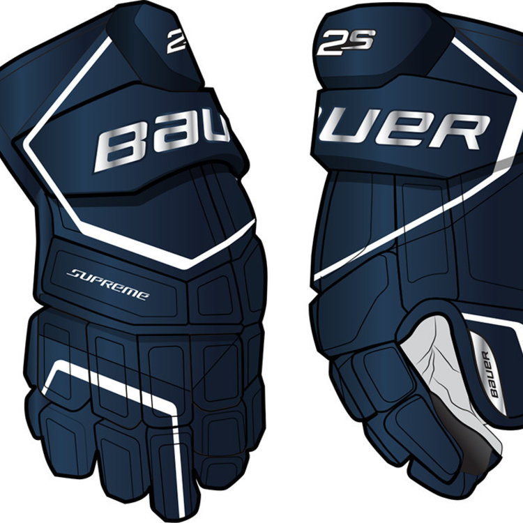 Bauer Bauer S19 Supreme 2S Hockey Glove - Senior