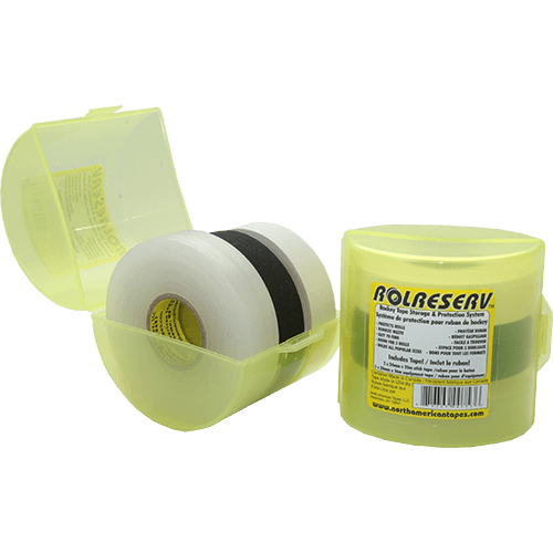 North American North American ROLRESERV - Tape Container - 3-Pack