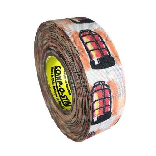 North American North American Hockey Tape - 1-Inch x 20 Yards - Goal Light - Thin