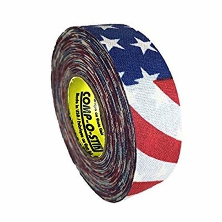 North American North American Hockey Tape - 1-Inch x 20 Yards - USA - Thin