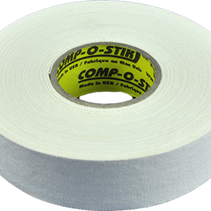 North American North American Hockey Tape - 1-Inch x 32 Yards - White - Thin