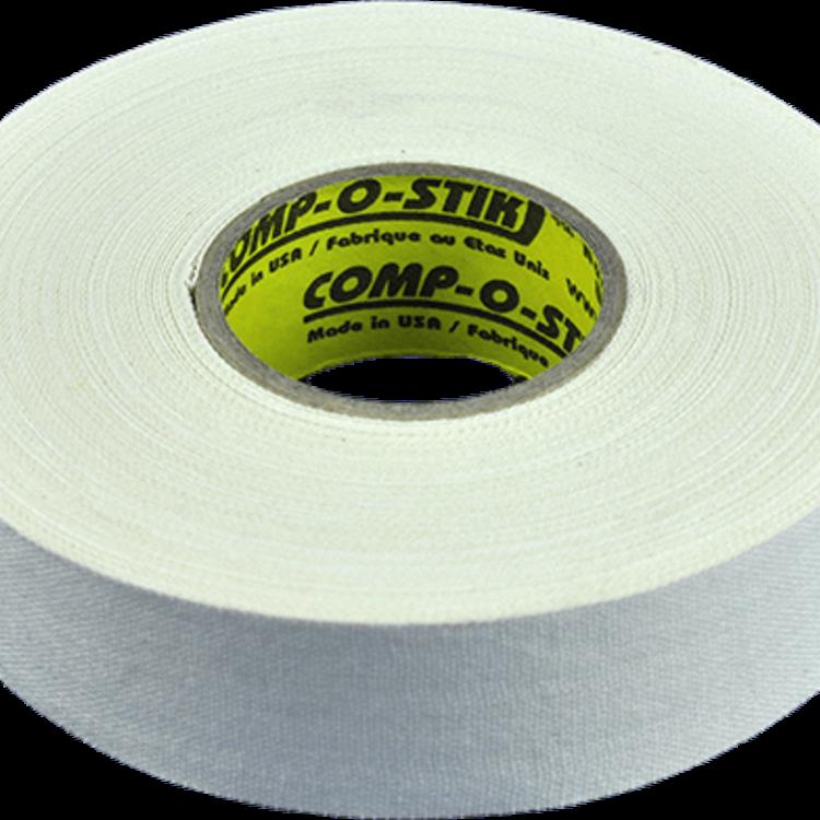 North American North American Hockey Tape - 1-Inch x 32 Yards - White - Thin