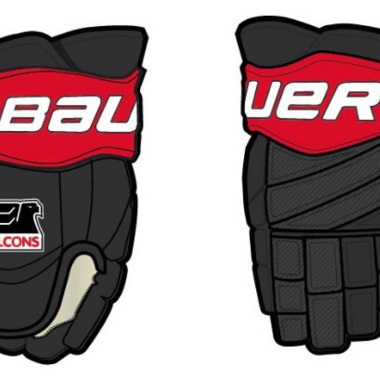 Bauer Falcons Hockey - Bauer Custom Pro Team Hockey Glove