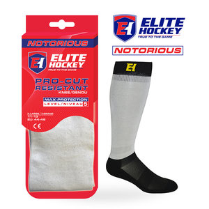 Elite Hockey Elite Hockey Notorious Pro-Cut Resistant Socks Level 5
