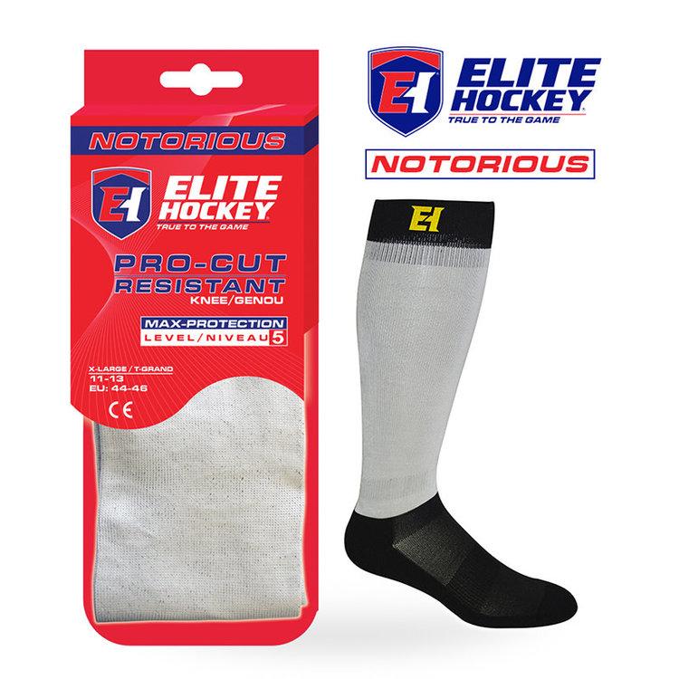 Elite Hockey Elite Hockey Notorious Pro-Cut Resistant Socks Level 5