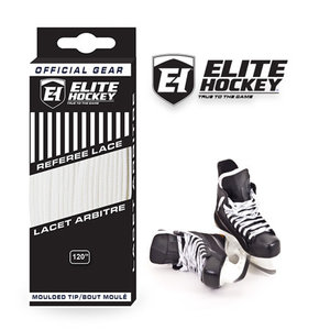 Elite Hockey Elite Hockey Pro Lace Referee - All White